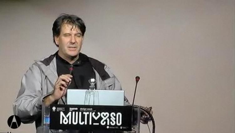 Ruedi Baurvideo della conferenza Multiverso dal sito di AIAP