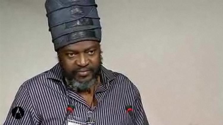 Saki Mafundikwavideo della conferenza Multiverso dal sito di AIAP