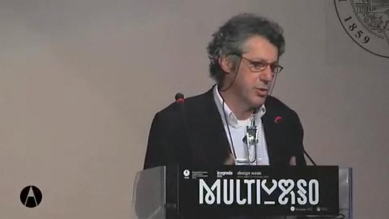 Mario Piazzavideo della conferenza Multiverso dal sito di AIAP