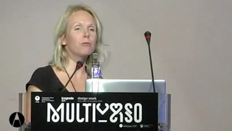Monika Parrinder video della conferenza Multiverso dal sito di AIAP
