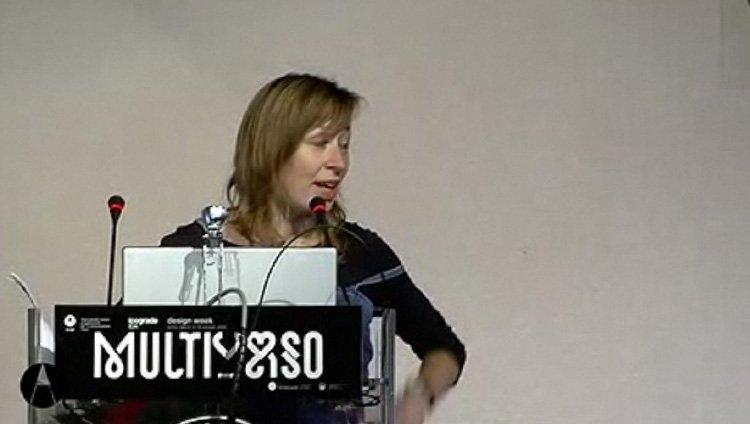 Luna Maurervideo della conferenza Multiverso dal sito di AIAP