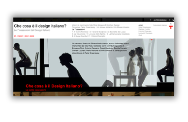Triennale Design Museum / Le Sette Ossessioni del Design Italiano