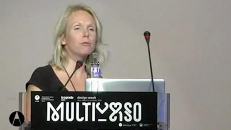 Monika Parrindervideo della conferenza Multiverso dal sito di AIAP