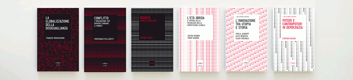 Book cover design series Tempi Moderni / Codice Edizioni